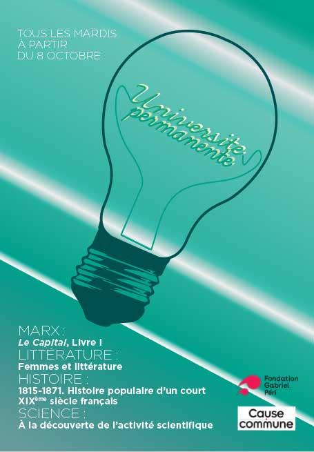 Une programme Universite permanente 2019-2010