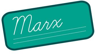 Logo conférence Marx université permanente